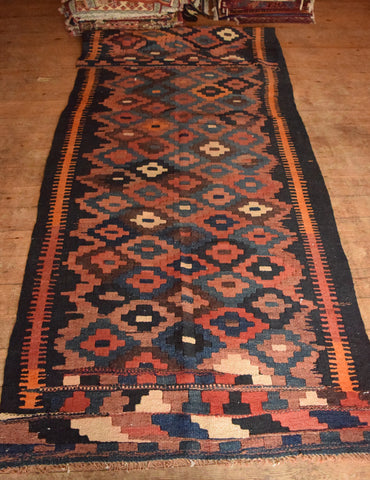 Persian Kilim 340x140 AA81 - Persian Tribal Rugs