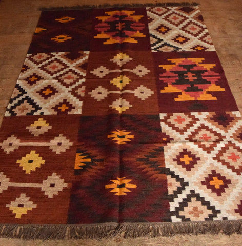 Persian Kilim 230x160 AA78 - Persian Tribal Rugs