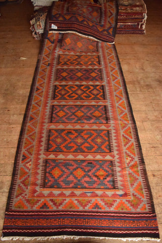 Persian Kilim 440x115 X5291 - Persian Tribal Rugs