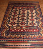 Persian Kilim 220x143 Z1813 - Persian Tribal Rugs - 2