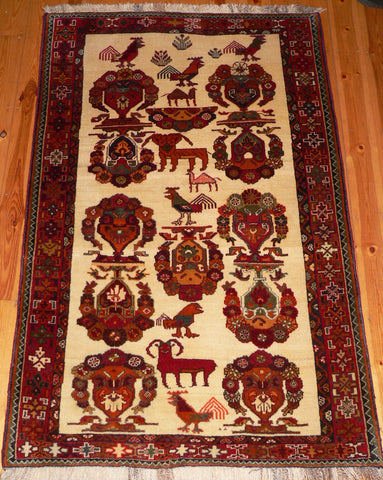 Qashqai Rug 195x126 FAR43 - Persian Tribal Rugs