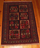 Quchan Rug 163x118 9800 - Persian Tribal Rugs - 2