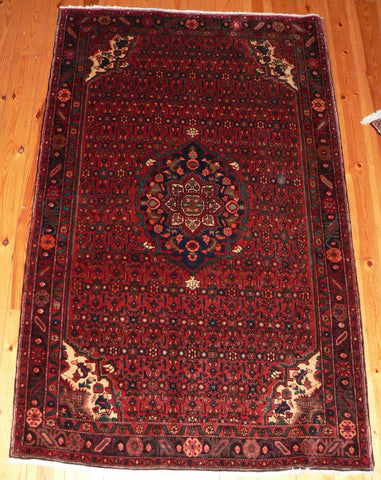 Bijar Rug 210x130 Z5091 - Persian Tribal Rugs