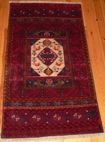 Balouch Rug 189x150 V4 - Persian Tribal Rugs