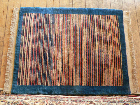 Gabbeh Rug 110x90 Z2461 - Persian Tribal Rugs