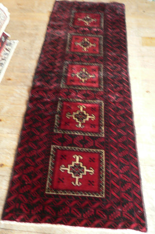 Balouch Rug 220x70 Z5033 - Persian Tribal Rugs