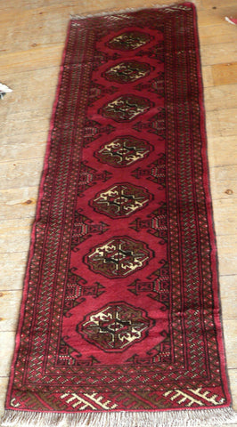 Turkman Runner 185x64 Z5028 - Persian Tribal Rugs