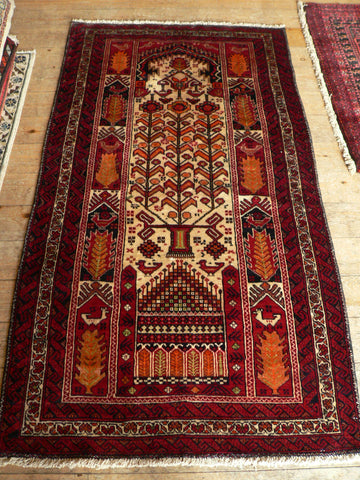 Balouch Rug 180x100 Z5076 - Persian Tribal Rugs