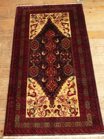 Balouch Rug 198x105 Z5069 - Persian Tribal Rugs