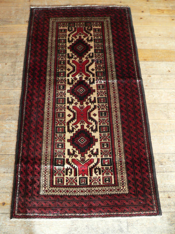 Balouch Rug 195x105 Z5055 - Persian Tribal Rugs