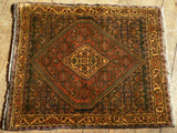 Zanjan Rug 93x80 Z5197 - Persian Tribal Rugs