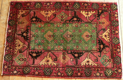 Hamedan Rug 105x72 Z5184 - Persian Tribal Rugs