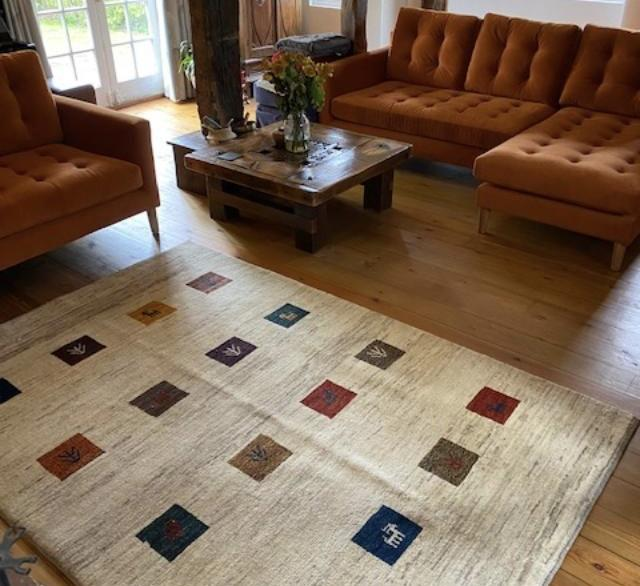 A large selection of Persian rugs, carpets and kilims