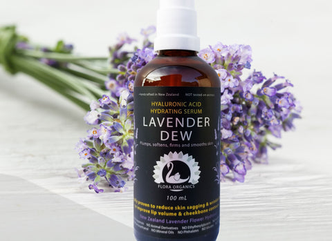 Hyaluronic Acid Lavender Anti-Aging & Hydrating Serum - 100 mL