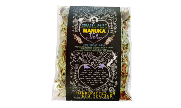 Manuka Tea - Blueberry Antioxidant Tonic - Organic - 25 gram bag