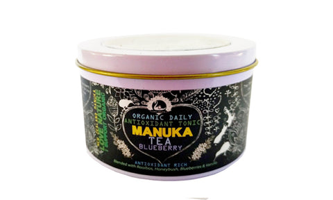 Manuka Tea - Blueberry Antioxidant Tonic - Organic - 30 gram Tin