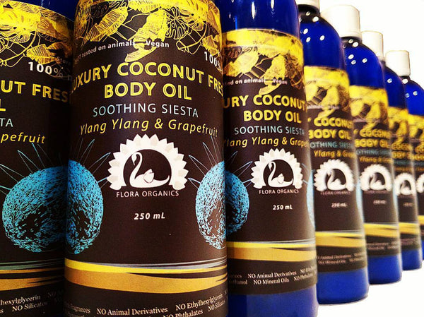 Coconut oil-fresh Rejuvenating Body Oil - Soothing Siesta