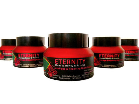 Eternity Manuka Honey & Rosehip Anti-age and Repairing Night cream