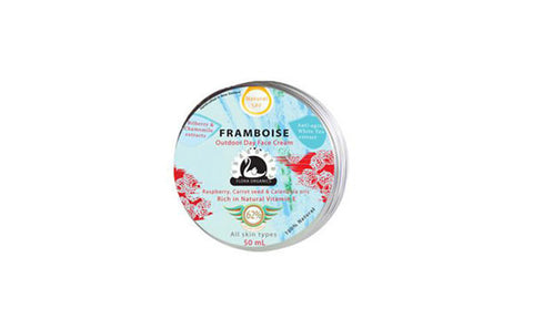 Day Cream Raspberry & Carrot seed Protective Day Cream 'Framboise'