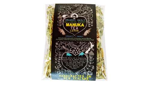 Manuka tea - Lemon Immunity & Energy Wellness Boost - Organic - 25 gram bag