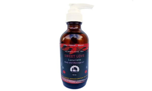 Body & Massage oil - Sweet Love - 100 mL