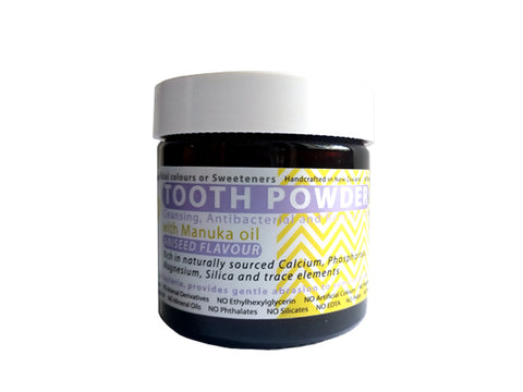 Remineralising Tooth Powder with Ionic Silica (Aniseed & Peppermint flavour) - 60 gm [2.2 ounces]