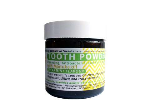 Remineralising Tooth Powder with Ionic Silica (Spearmint flavour) - 60 gm [2.2 ounces]