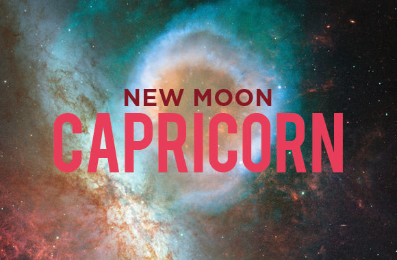 CAPRICORN NEW MOON, PARTIAL SOLAR ECLIPSE