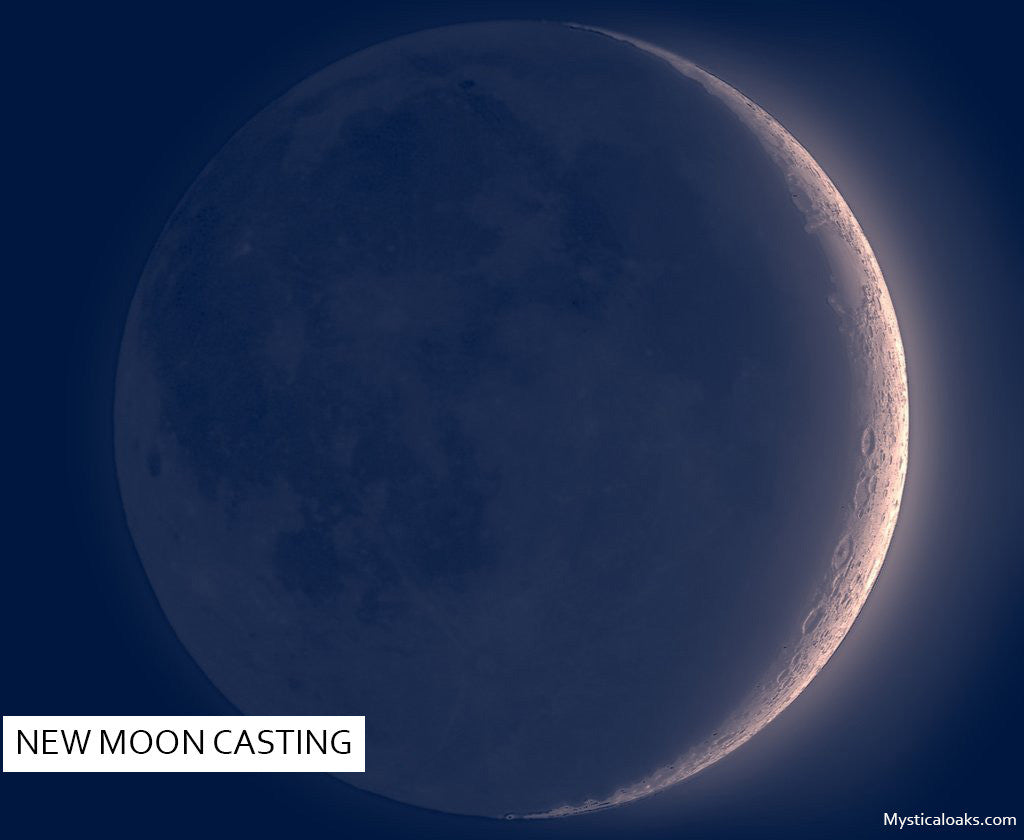NEW MOON SPELL CASTING