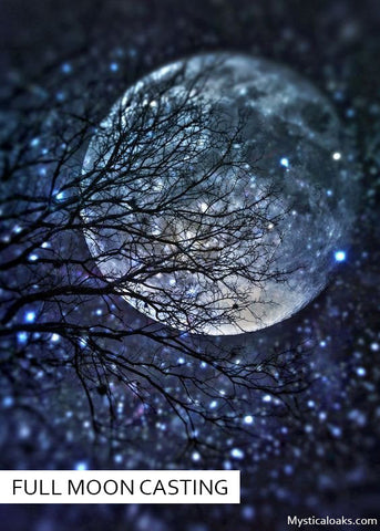 FULL MOON SPELL CASTING- DISTANT ENERGY WORK