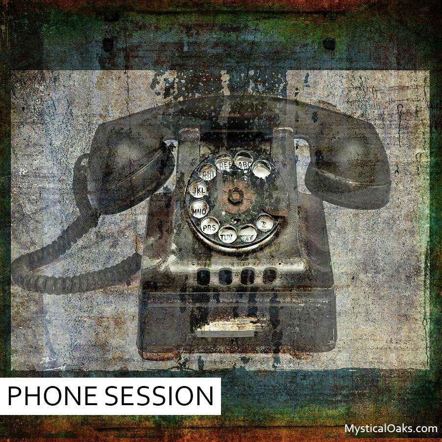 PHONE SESSION - 30 MINUTES