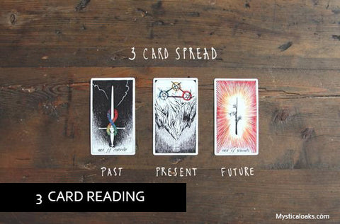 3 CARD CUSTOM TAROT READING