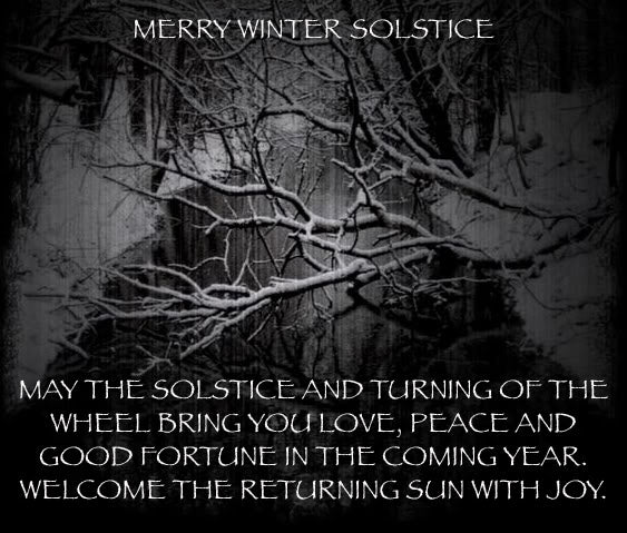 WINTER SOLSTICE CASTING