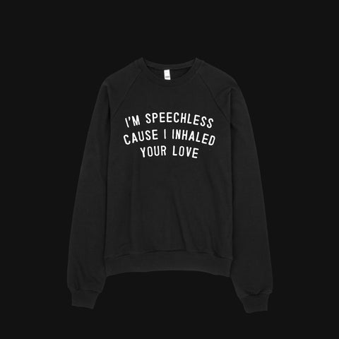 Inhale Unisex Sweater