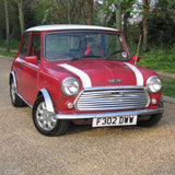 classic mini red stripes
