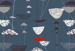 Lucienne Day Calyx Fabric