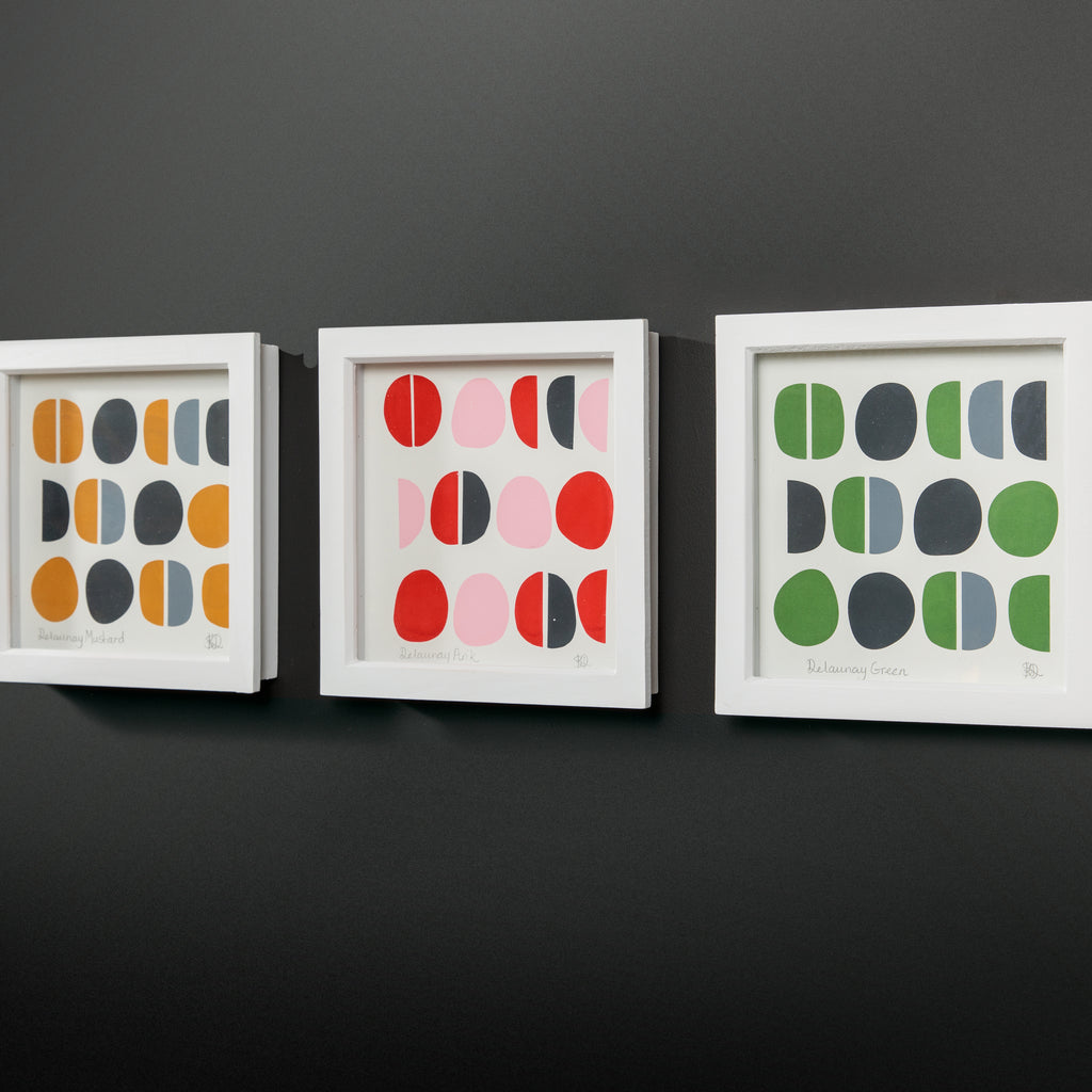 Framed Screen Print | DELAUNAY