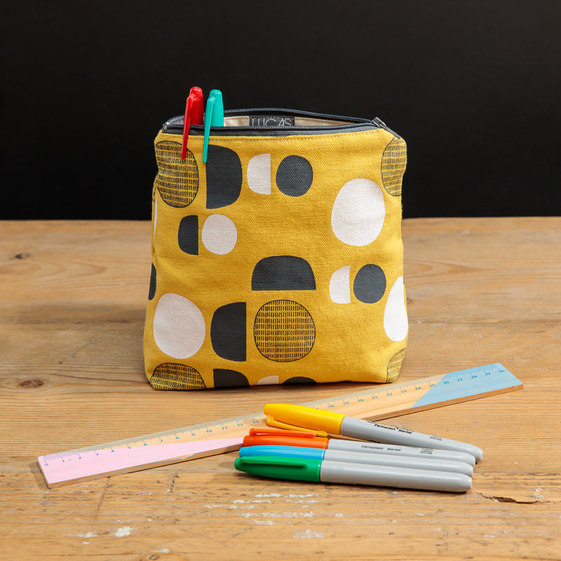 Pouch | Purse | OR what we like to call it, BAG IN A BAG, BAG | Mustard