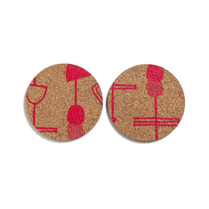 Cork Coasters | LIFE'S LITTLE PLEASURES