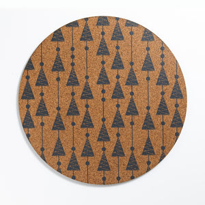 Christmas Cork Placemats | FIRS