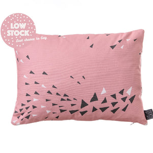 Cushion Cover, Rectangle | MURMUR | Feather Pink