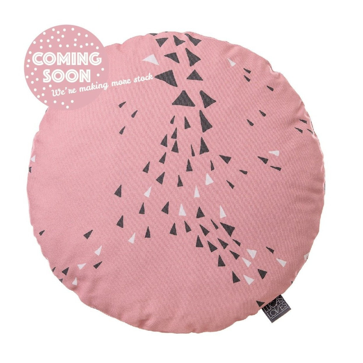 Cushion Cover, Round | MURMUR | INDOOR
