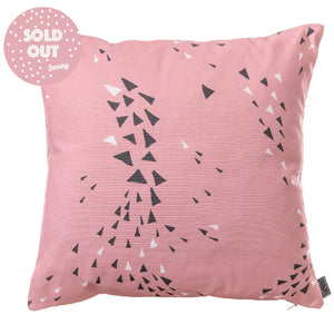 Cushion Cover, Square | MURMUR | Feather Pink