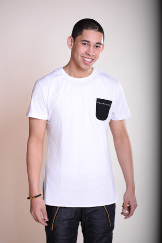 Contrast Tees for Men