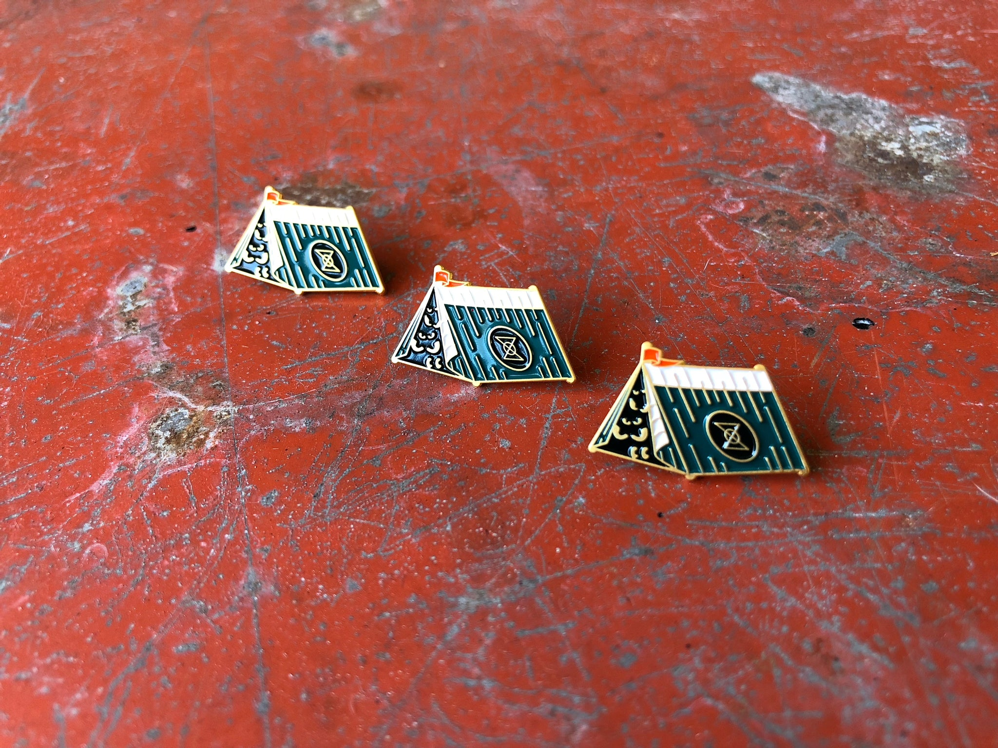Camp SSG Lapel Pin