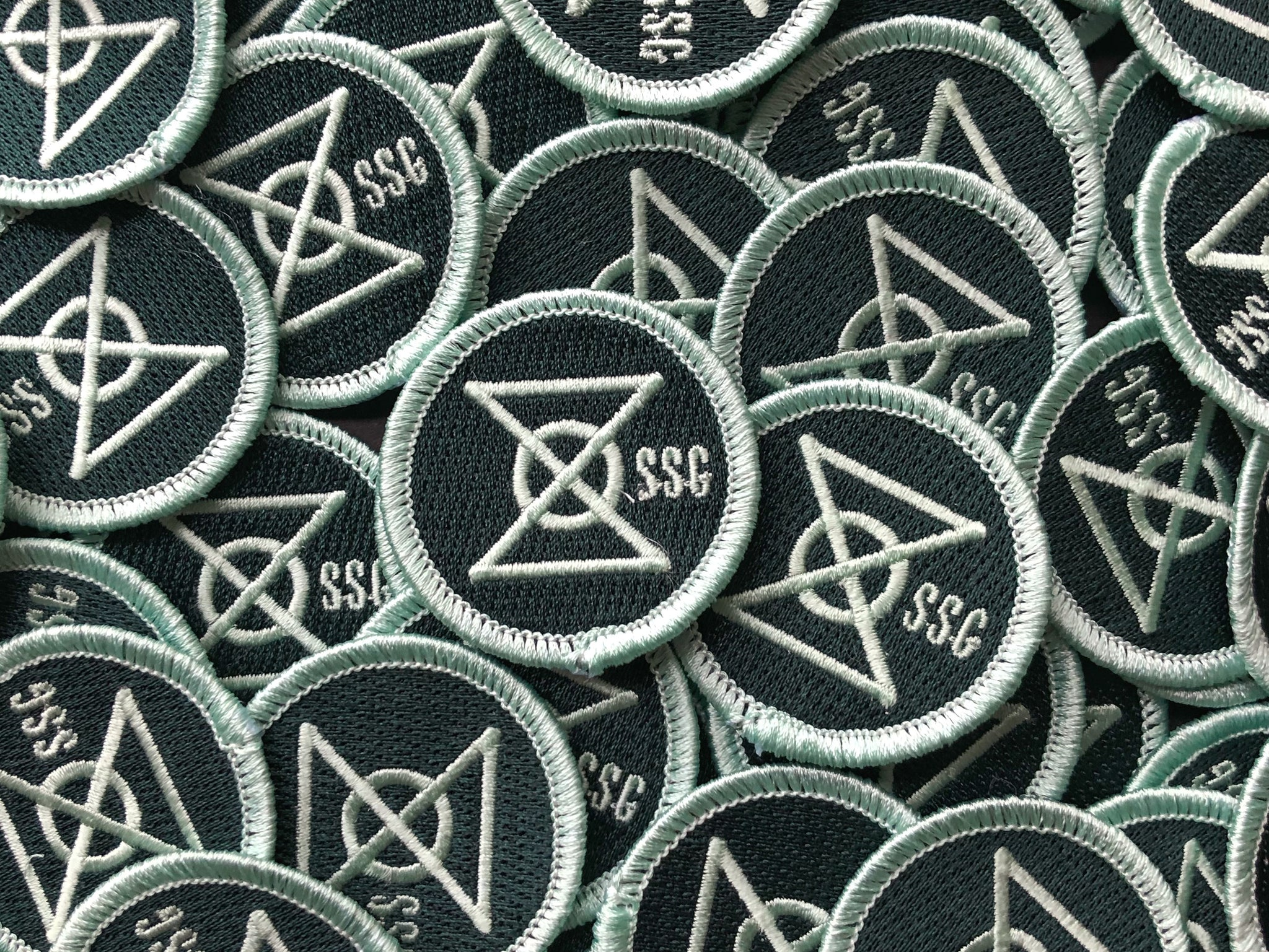 Secret Society Insignia Mini Merit Badge
