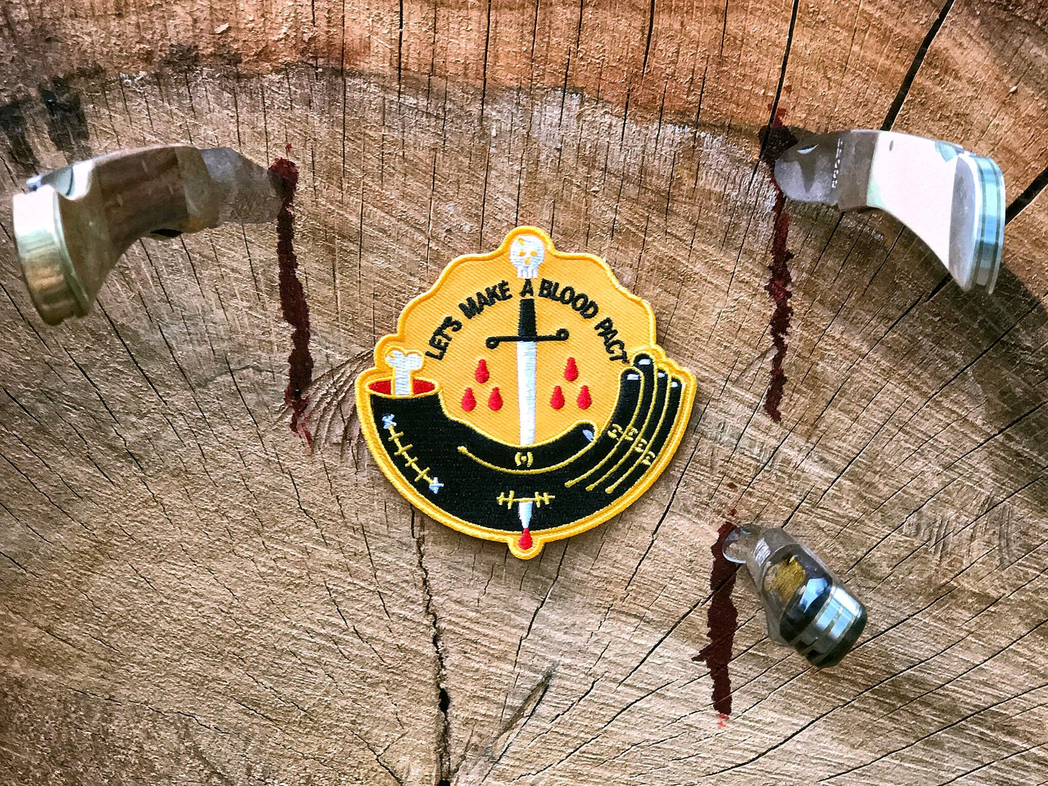 Blood Pact Merit Badge