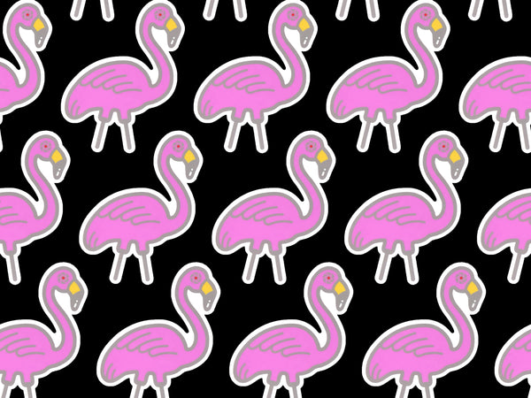 Flamingo Surveillance Sticker