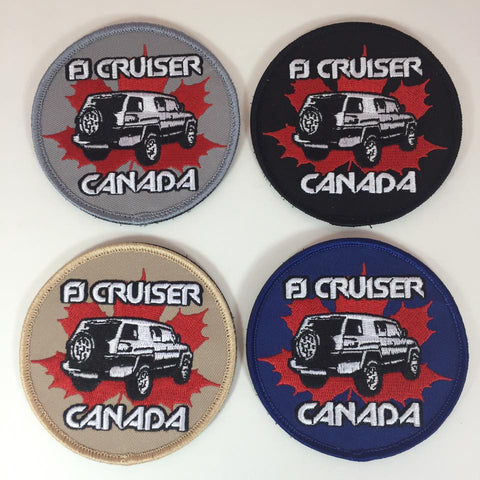 FJ Cruiser Canada Patch