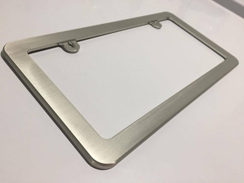 Anodized Billet License Plate Frame